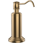 Waverly Place Collection Free Standing Soap Dispenser, Premium Finish, Brushed Bronze