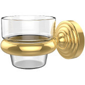 Waverly Place Collection Wall Mounted Votive Candle Holder, Standard Finish, Polished Brass