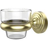 Waverly Place Collection Wall Mounted Votive Candle Holder, Premium Finish, Satin Brass