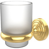 Waverly Place Collection Wall Mounted Tumbler Holder, Standard Finish, Polished Brass