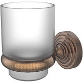 Waverly Place Collection Wall Mounted Tumbler Holder, Premium Finish, Venetian Bronze
