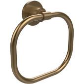 Washington Square Collection Towel Ring, Premium Finish, Brushed Bronze