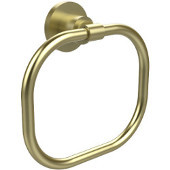 Washington Square Collection Towel Ring, Premium Finish, Satin Brass