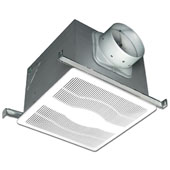 150 CFM ENERGY STAR® Certified Deluxe Quiet Dual Speed Exhaust Fan with Humidity Sensor