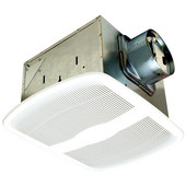 280 CFM Delux Ultra Quiet Exhaust Fan, White