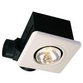Single Bulb Heater Lamp, 70 CFM, 250-Watt Bulb