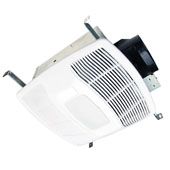 50-110 CFM Combination Exhaust Fan and Ceramic Heater with Light