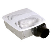 Air King AS Series Bathroom Exhaust Fan, 50 CFM, 3.0 Sones, 10''W x 9-1/2''D x 3-3/4''H