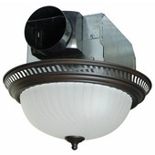Decorative Round Bathroom Exhaust Fan with Light