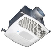 80 CFM Eco Exhaust with Humidity & Motion Sensor & LED, Single Speed, Available in Multiple Configurations