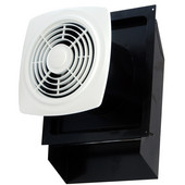 Bathroom fans bathroom ventilation fans without lights - Through the wall exhaust fan for bathroom ...