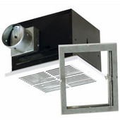 Fire Rated Exhaust Fan, Energy Star, For Wood Frame Construction, 90 CFM