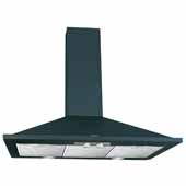 30'' W Valencia Wall Chimney Range Hood, 500 CFM, Black