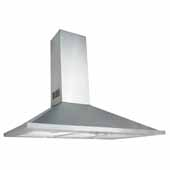 30'' W Valencia Wall Chimney Range Hood, 500 CFM, Stainless Steel