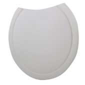 Round Polyethylene Cutting Board for AB1717, 15'' Diameter x 3/4'' H