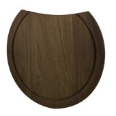 Round Wood Cutting Board for AB1717, 15'' Diameter x 3/4'' H