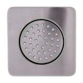 Brushed Nickel Flush Mounted Shower Body Spray, 4-1/8'' W x 4-1/8'' D x 3-1/4'' H
