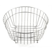 Round Stainless Steel Basket for AB1717, 13'' Diameter x 6-3/4'' H