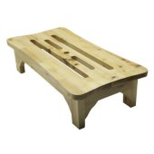 24'' Wooden Stool for your Wooden Tub, 23-5/8'' W x 11-7/8'' D x 5-7/8'' H