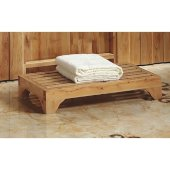 4'' Modern Wooden Stepping Stool  Multi-Purpose Accessory, 23-5/8'' W x 11-3/4'' D x 4'' H