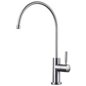 Solid Brushed Stainless Steel Drinking Water Dispenser, Faucet Height: 12-3/8'' H,Spout Height: 8-1/2'' H, Spout Reach: 7-1/2'' D