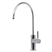 Solid Polished Stainless Steel Drinking Water Dispenser, Faucet Height: 12-3/8'' H,Spout Height: 8-1/2'' H, Spout Reach: 7-1/2'' D