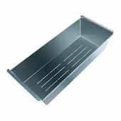 ALFI Brand AB85SSC Stainless Steel Colander Insert for Granite Sinks, 16-3/4''W x 6-5/8''D x 3-3/4''H