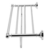 Polished Chrome 23'' Towel Bar & Shelf Bathroom Accessory, 23-5/8'' W x 8-7/8'' D x 5-1/2'' H