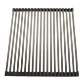 18'' x 13'' Modern Stainless Steel Drain Mat for Kitchen, 17-5/16'' W x 12-1/4'' D x 5/16'' H