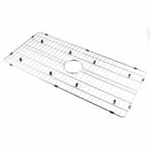 ALFI Brand ABGR36 Solid, Stainless Steel Kitchen Sink Grid for ABF3618 Sink, 33-1/2''W x 15-1/2''D x 15/16''H