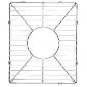 Stainless Steel Kitchen Sink Grid for Small Side of AB3618DB. AB3618ARCH, 13-1/4'' W x 11'' D x 1'' H