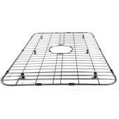 Solid Stainless Steel Kitchen Sink Grid, 27-1/2'' W x 17-1/8'' D x 1'' H