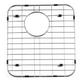 Right Solid Stainless Steel Kitchen Sink Grid, 13-3/4'' W x 15'' D x 1'' H