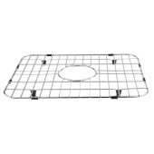 Solid Stainless Steel Kitchen Sink Grid, 14-1/2'' W x 17-3/8'' D x 1'' H