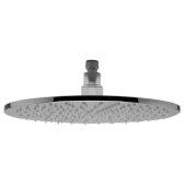 Polished Chrome 12'' Round Multi Color LED Rain Shower Head, 11-3/4'' Diameter x 3/8'' H
