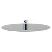 Solid Polished Stainless Steel 12'' Round Ultra Thin Rain Shower Head, 12'' Diameter x 1/8'' H