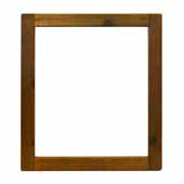 Americana Mirror in Chestnut, 25-1/2''W x 1-1/2''D x 29-1/2''H