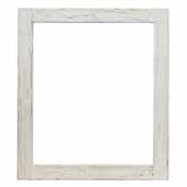 Americana Mirror in Whitewash, 25-1/2''W x 1-1/2''D x 29-1/2''H