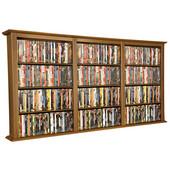 Wall Mounted Cabinet-Triple 76'' W x 8-1/2'' D x 36-1/4'' H, Oak