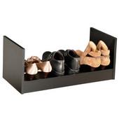 Stackable Shoe Rack,  24'' W  x 12'' D x 10''  H, Black