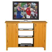 Multi-Media A/V Cabinet, Oak