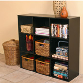 Project Center Bookcase, 39'' W x 11-1/2'' D x 36'' H, Black