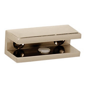Arch Series Shelf Brackets Only, Pair, Polished Nickel