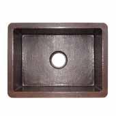 Cocina 21 Kitchen Sink In Antique Copper, 21-1/2''W X 16''D X 9''H