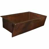 Zuma Kitchen Sink In Antique Copper, 33''W X 22''D X 10-1/2''H