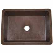 Cocina 30 Kitchen Sink In Antique Copper, 30''W X 18-1/2''D X 10''H