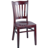 Classico Solid Beechwood Stool with Upholstered Seat