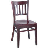 Legacy Beechwood Chair with Grade 1 Vinyl Upholstered Seat 17''W x 17''D x 33''H