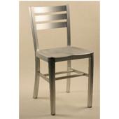 - Diana Aluminum Chair, 15 1/4'' W x 15'' D x 33 1/2'' H