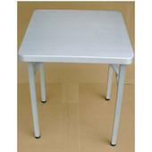 Brushed Aluminum Folding Table